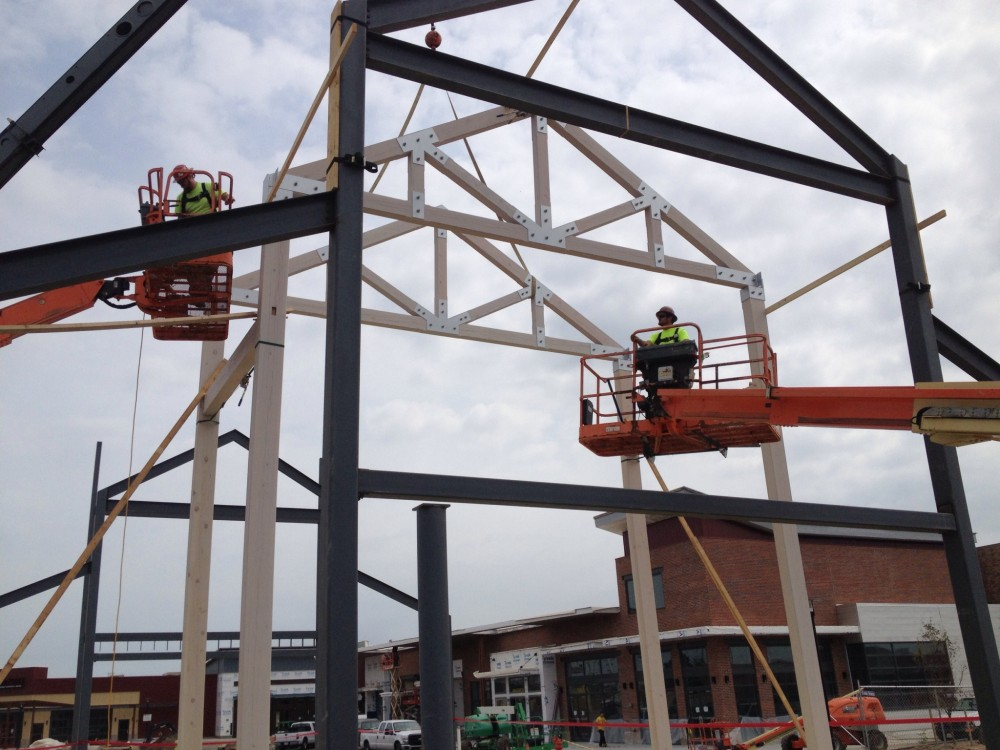 Photo By Lancaster County Timber Frames, Inc.. Timber Framed Restaurant In Baltimore