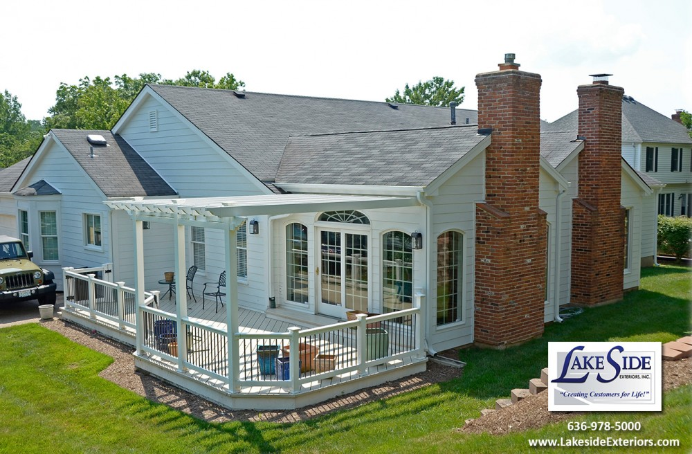 Photo By Lakeside Renovation & Design. Project In Ballwin, MO