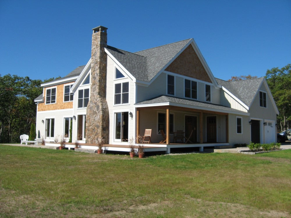 Photo By The Murus Company, Inc.. New Timber Frame Residence