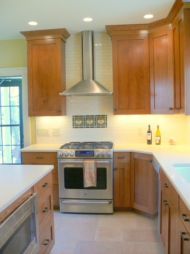 Photo By Sustainable Construction. Sustainable Construction Services, Inc.Arts And Crafts Kitchen