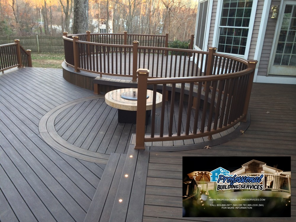 Photo By Professional Building Services. Trex Elevations Frame And Deck