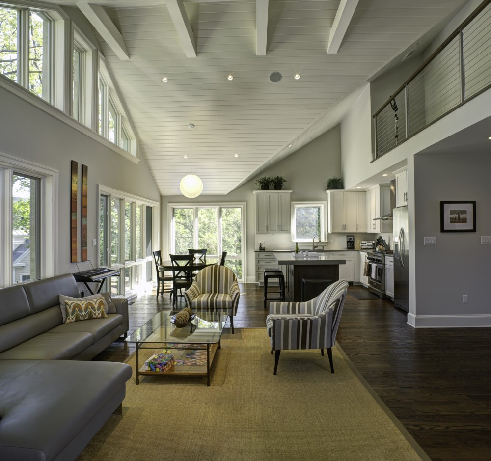 Photo By Finecraft Contractors, Inc.. Contemporary Style To Suburban House
