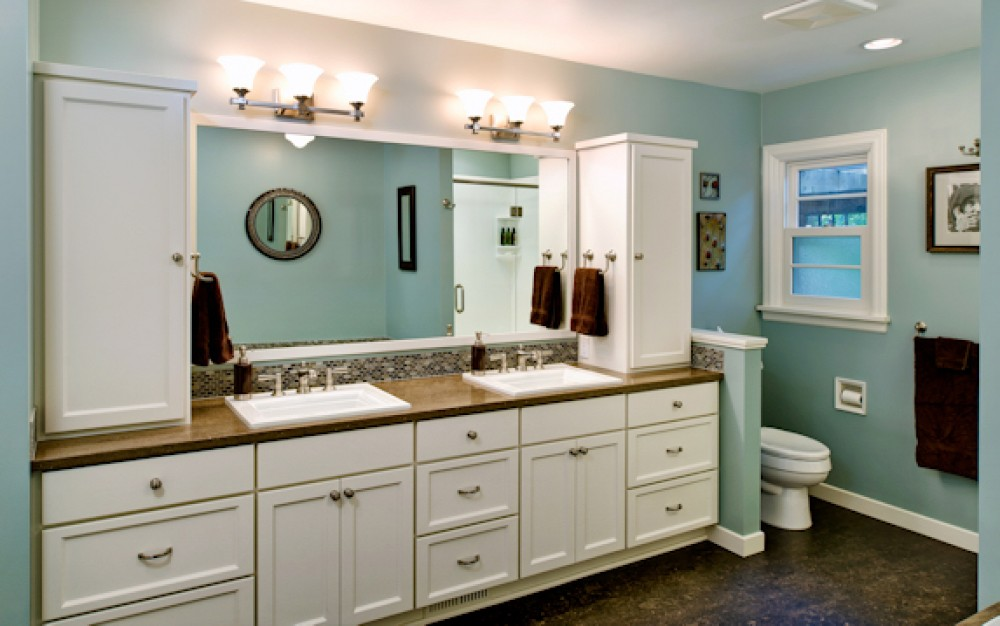 Basement bathroom designs bathroom designs designtrends for Basement bathroom remodeling ideas