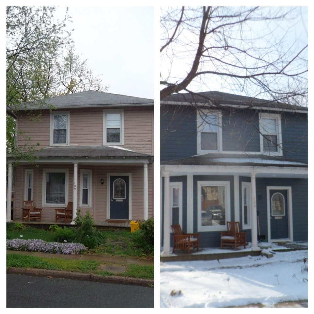 Photo By Exterior Medics, Inc.. Before And After Images - Alexandria Home