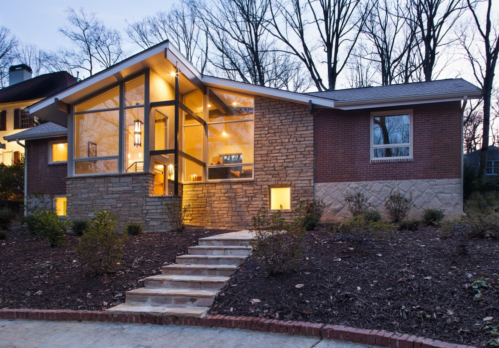 Photo By Renewal Design Build. Mid Century Modern Renovation - Druid Hills