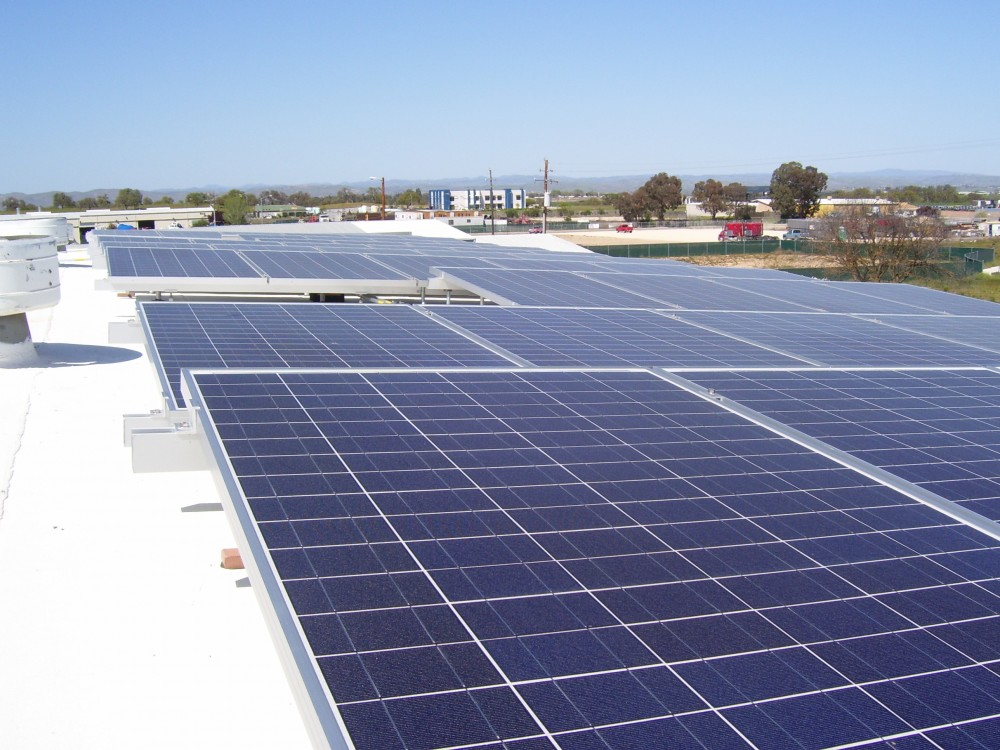 Photo By Solarponics, Inc.. Commercial Solar Electric