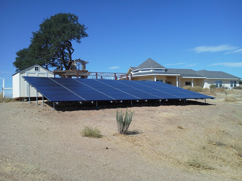 Photo By Solarponics, Inc.. Residential Solar Electric