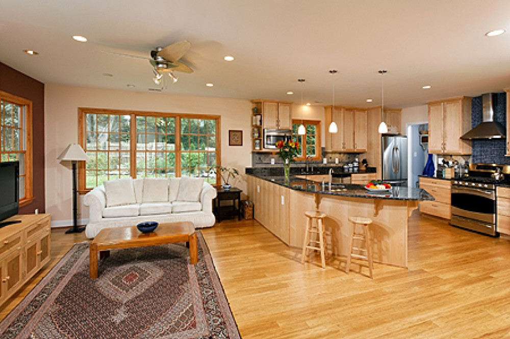 Photo By Tabor Design Build. Petersen Kitchen