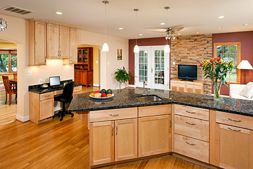 Photo By Tabor Design Build. Petersen Kitchen
