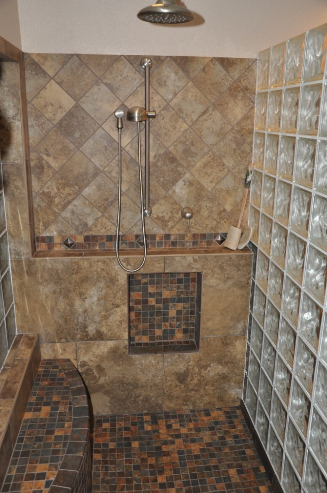 Photo By Tri-Lite Builders. Master Bath Remodel