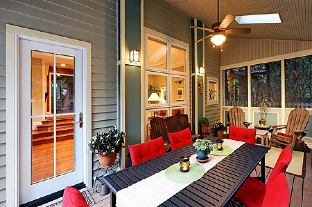 Photo By Tabor Design Build. Martineau New Screened Porch