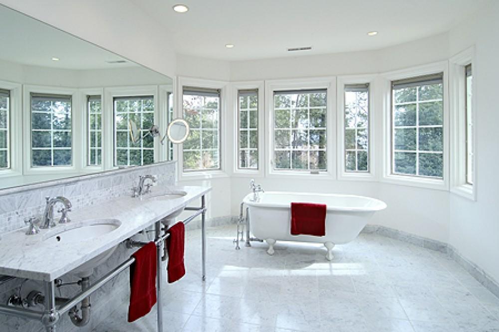 Photo By Tabor Design Build. Side Addition Master Bath