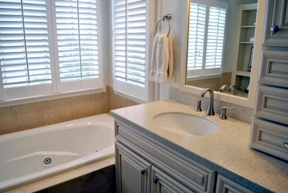 Photo By Lensis Builders Inc. Tranquil Master Bath Remodel