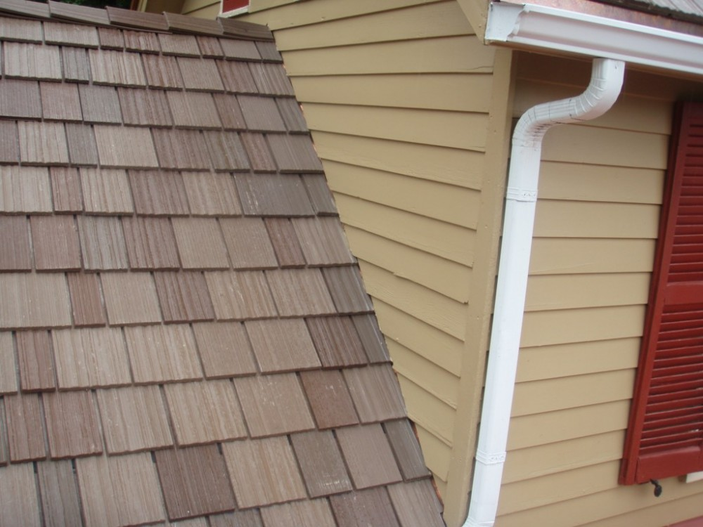 Photo By Fick Bros. Roofing & Exterior Remodeling Company. DaVinci Synthetic Shakes