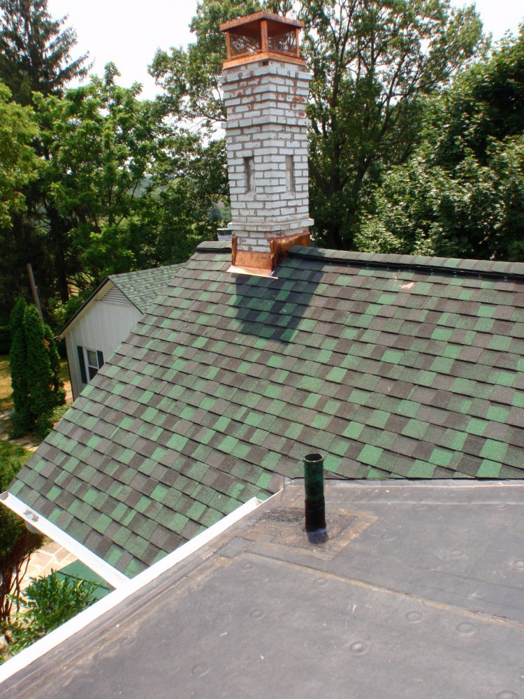 Photo By Fick Bros. Roofing & Exterior Remodeling Company. Christ Res - Asphalt Shingle, Metal & EPDM Re-Roofing