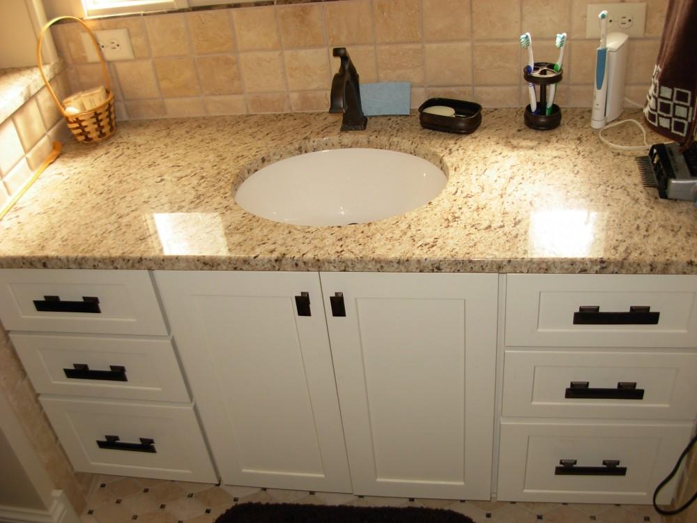 Photo By Gettum Associates, Inc. Master Bathroom Remodel