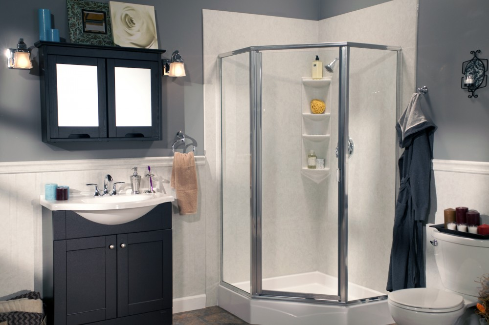 Photo By Improveit! Home Remodeling. Shower Systems
