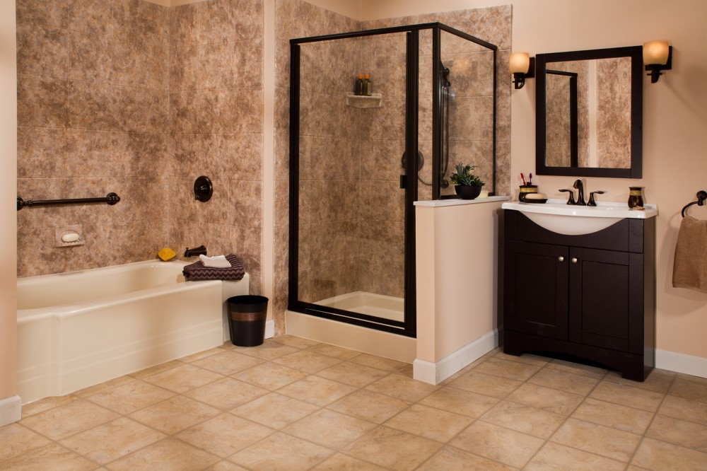 Photo By Improveit! Home Remodeling. Bath & Shower Systems