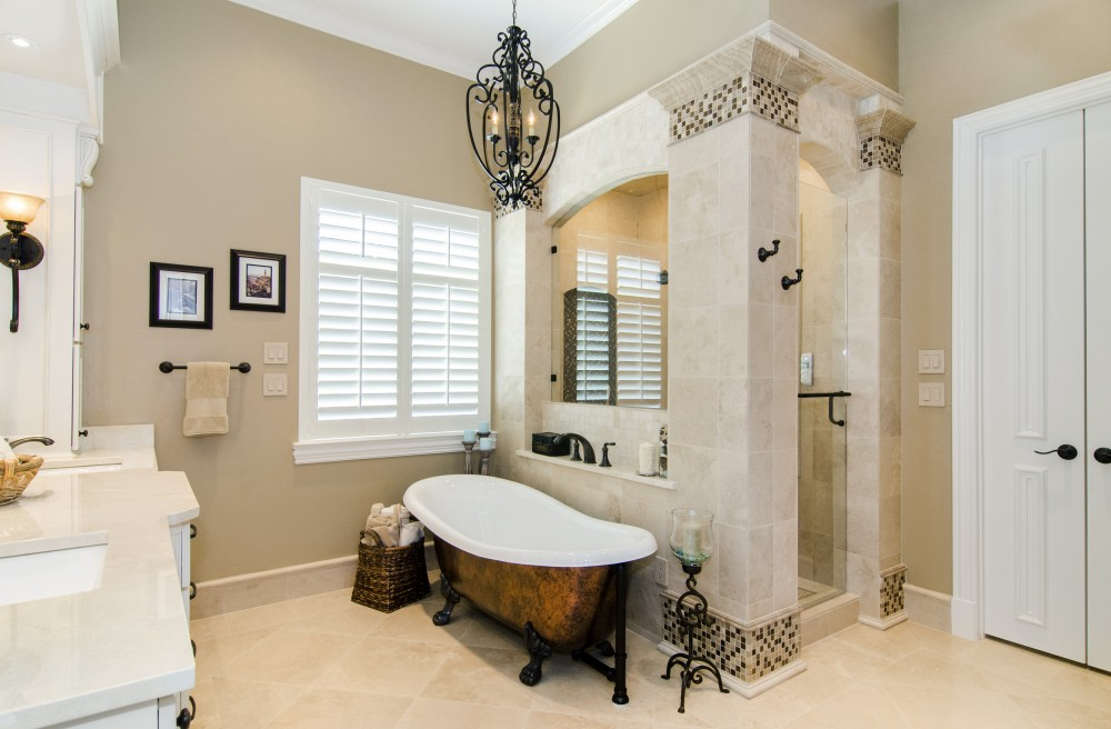 Photo By Hatfield Builders & Remodelers. Roswell Master Bath