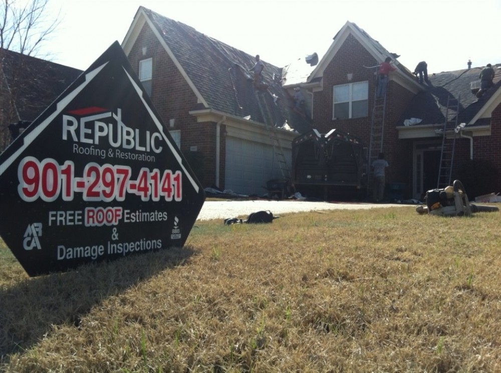 Photo By Republic Roofing & Restoration. Republic Roofing And Restoration