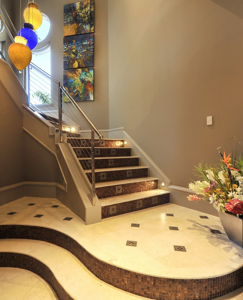 Photo By Hann Builders. Modern Luxury, Entry, Foyer, Kitchen, Master Bath, Pool, Stairs, Dining Room