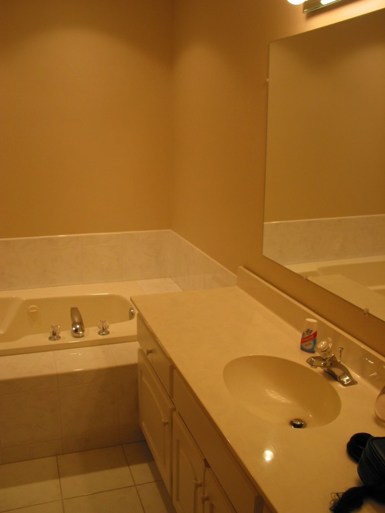 """Photo By DreamMaker Of Orland Park. """"Before"""" & """"After"""" Master Bath Remodel"""
