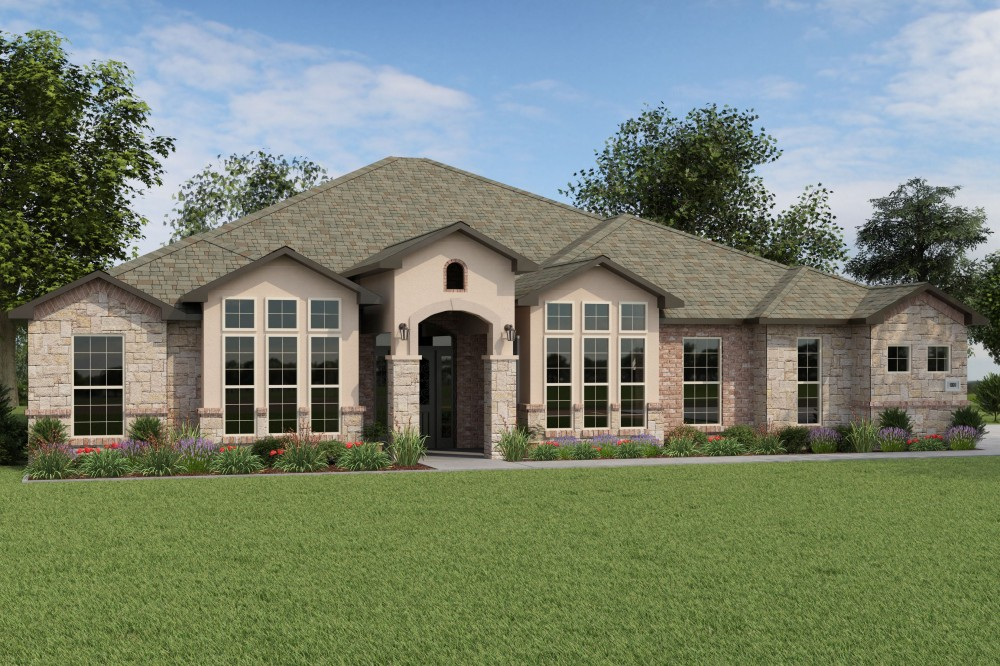 Photo of new home designs for Mitchell home builders