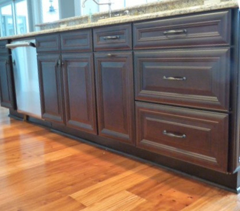 Photo By Welcom Cabinets. New Construction