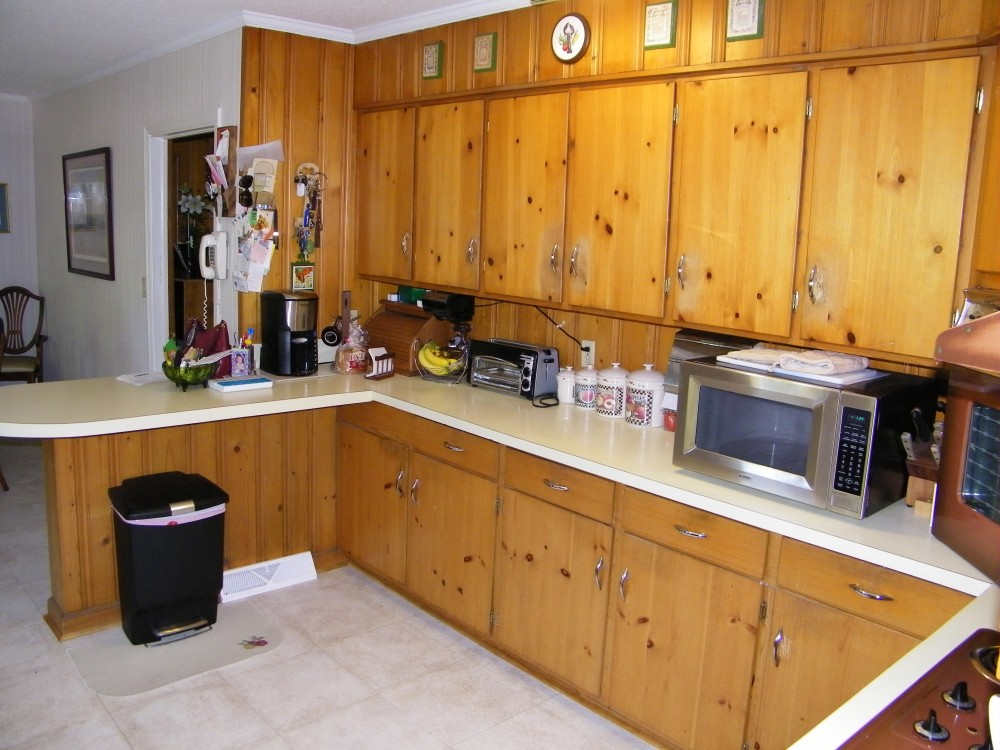 Photo By Welcom Cabinets. Before & After: Kitchen Renovation