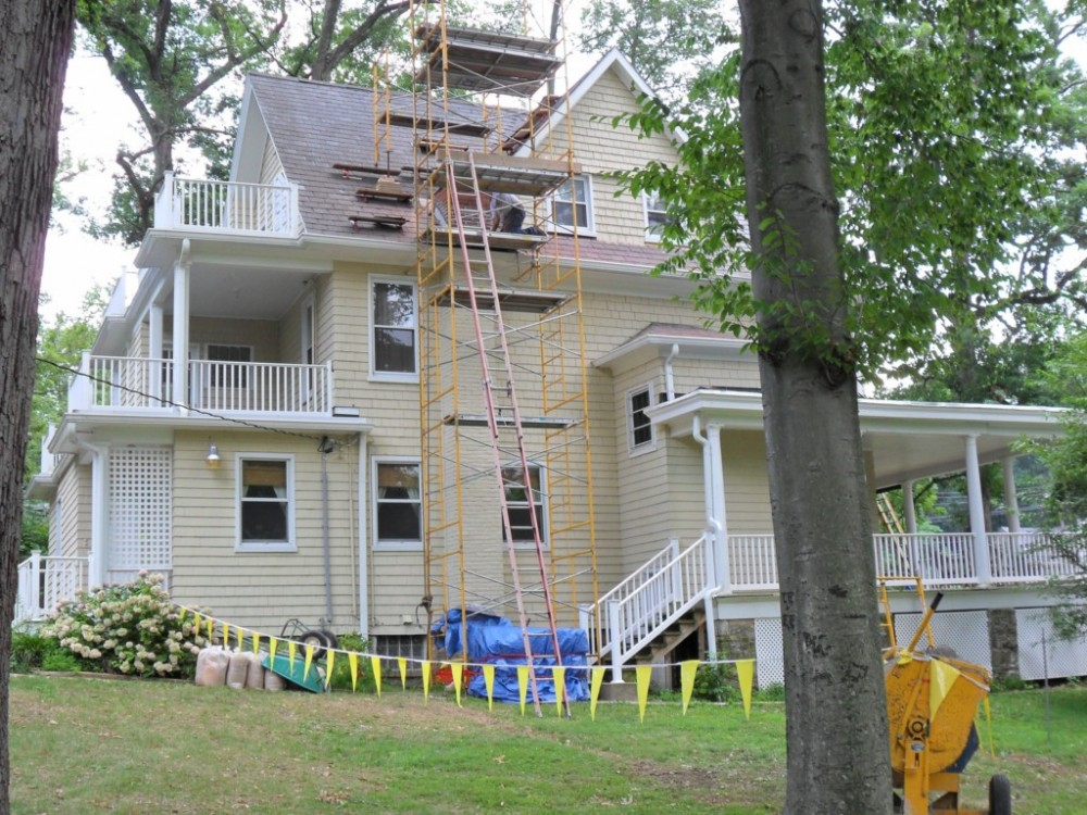 Photo By Fick Bros. Roofing & Exterior Remodeling Company. Pletsch Residence
