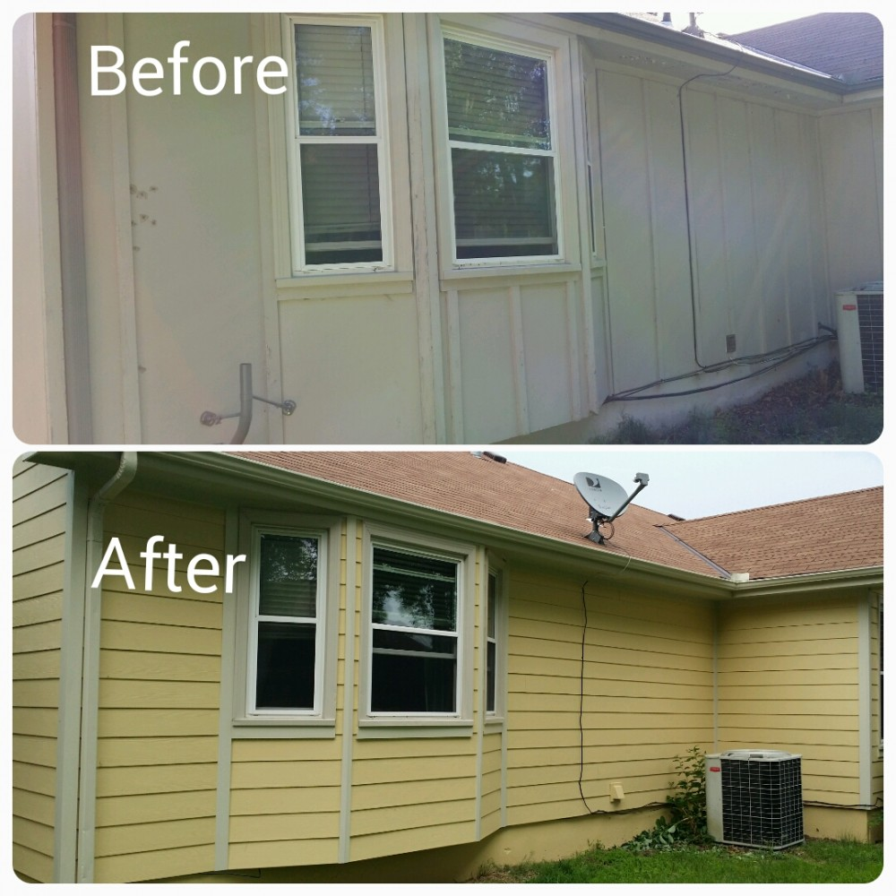 Photo By Sure Point Exteriors. Siding Replacement