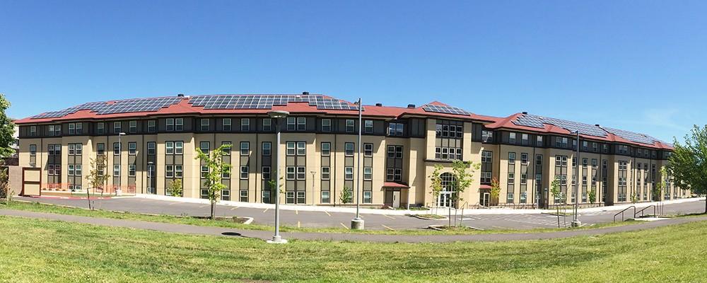 Photo By E2 Solar, Inc.. Shasta Hall