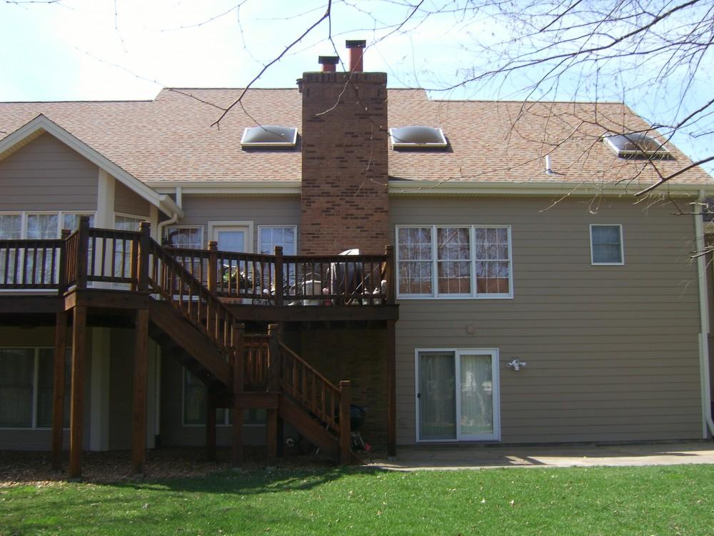 Photo By The Siding Company. Gibbs Residence