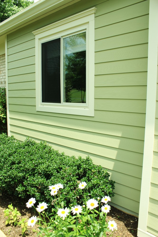 Photo By Custom Concepts Construction. James Hardie Lap Siding Heathered Moss
