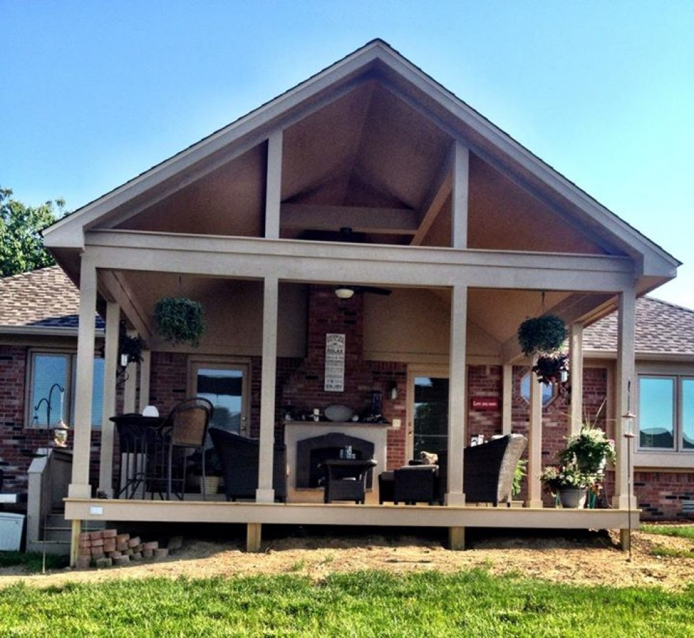 Photo By Gettum Associates, Inc. Greenwood Covered Porch