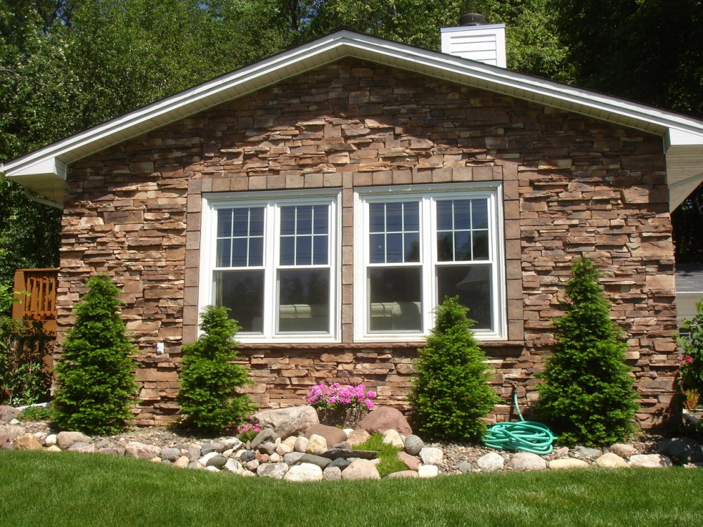 Photo By Craftsman's Choice. Siding And Stone