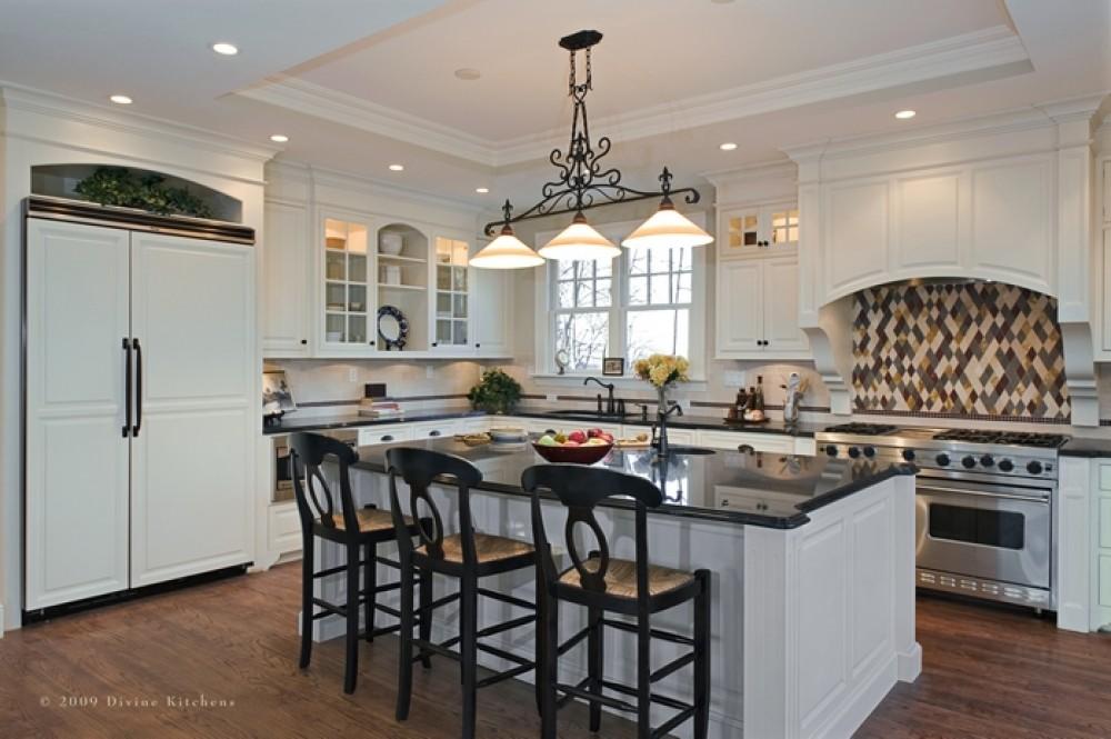 Photo By Divine Kitchens LLC. Newton