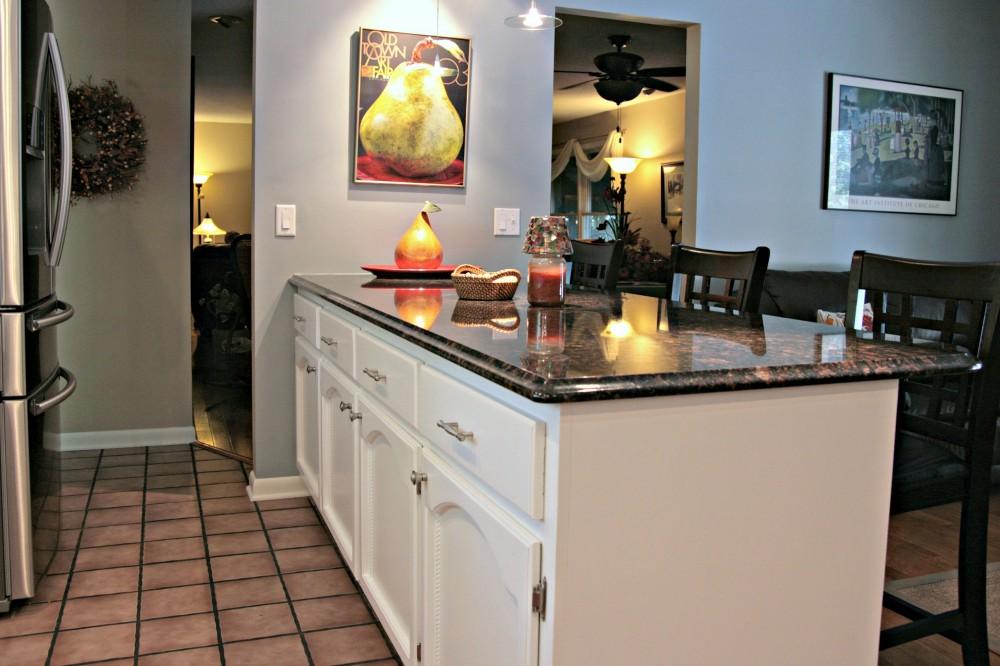 Photo By DreamMaker Bath & Kitchen Springfield. Updated Kitchen & Updated Bath