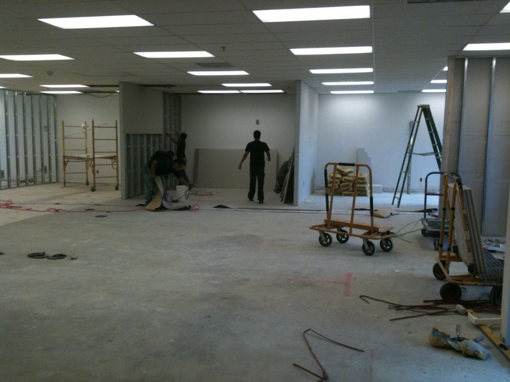 Photo By Gold Coast Contractors, Inc.. Current Office Project