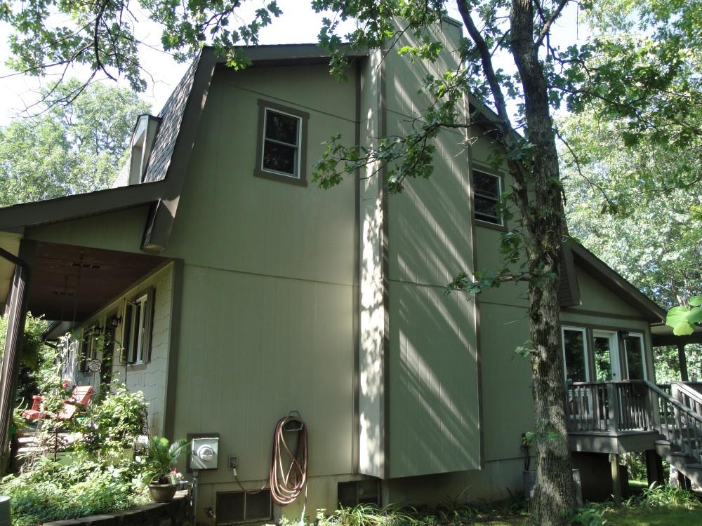 Photo By The Siding Company. Barrows Residence