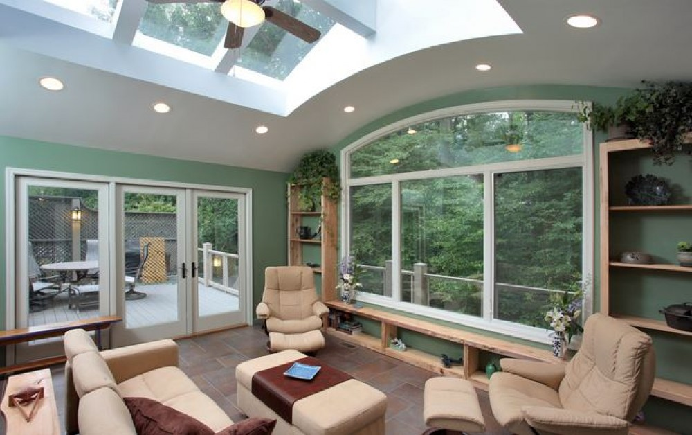 Photo By Kingston Design Remodeling. CotY Grand Award : Sunroom