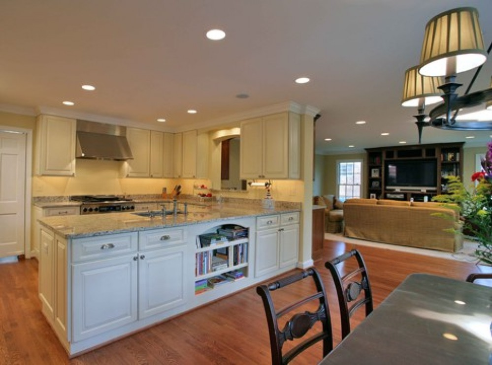 Photo By Kingston Design Remodeling. Kitchen Addition And Family Room