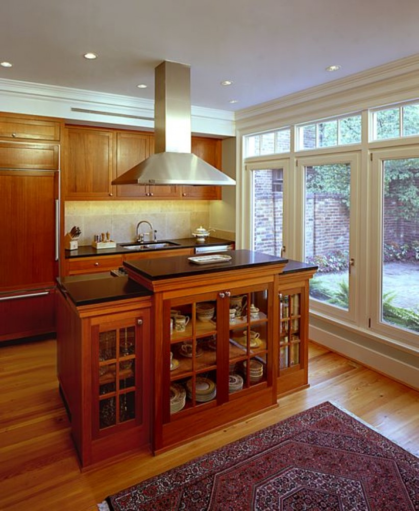 Photo By Kingston Design Remodeling. CotY Grand Award: 1840's Town House