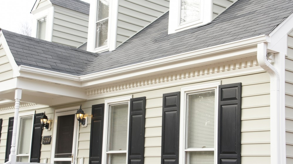 Photo By Baker Roofing Company. Gutters & Gutter Guards