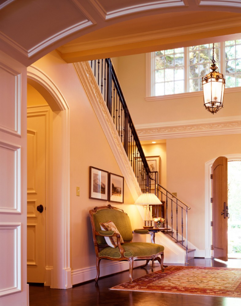 Photo By Olson & Jones Construction, Inc.. French Country Style Manor
