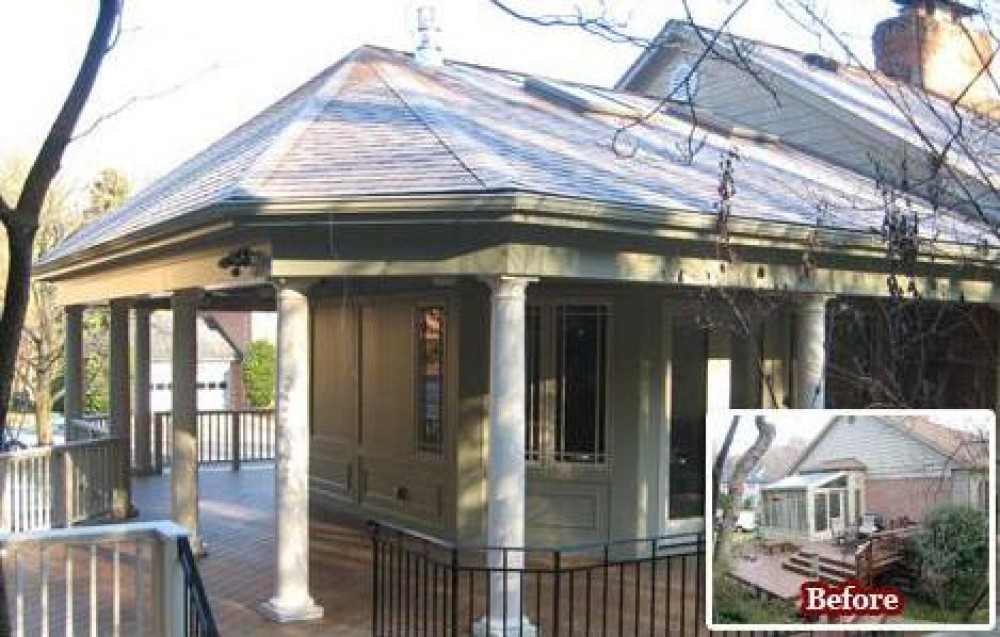 Photo By Colonial Remodeling. Porticos, Porches And Additions