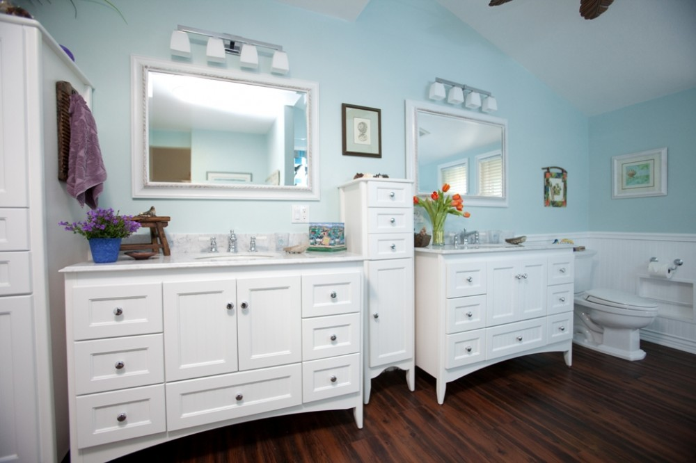 Photo By One Week Bath Los Angeles. Gorgeous Bathroom Makeover!
