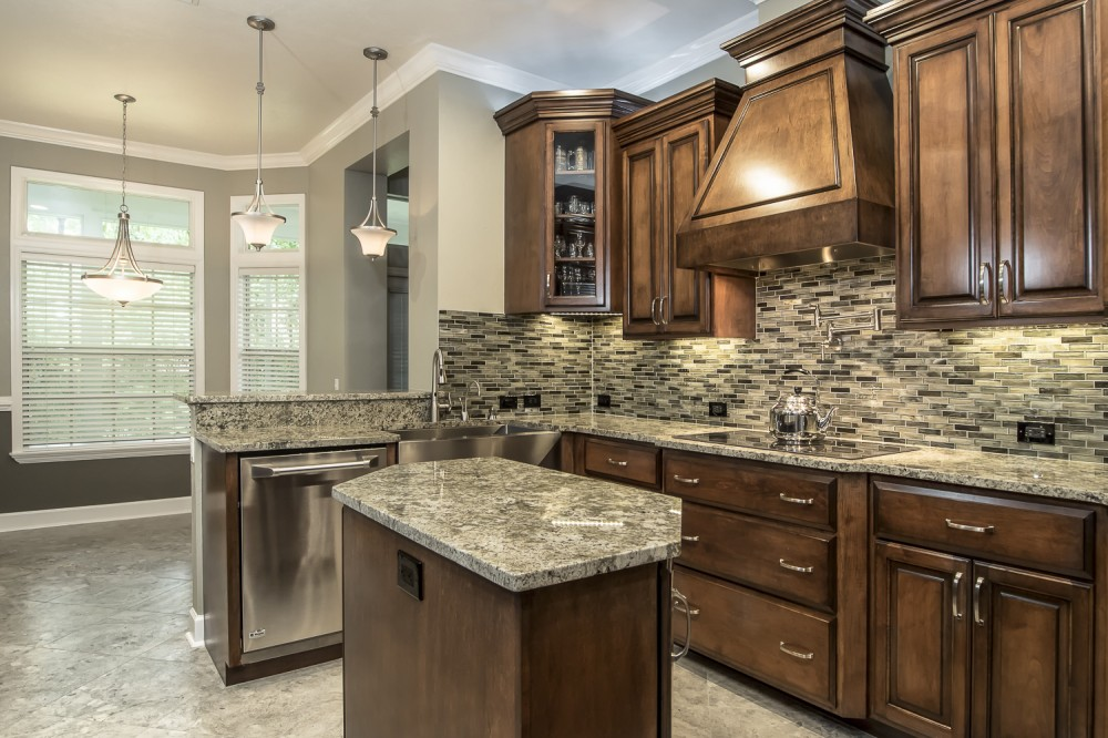 Photo By Robinson Renovation & Custom Homes, Inc.. Kitchen, Family Room, Master Bath Photos