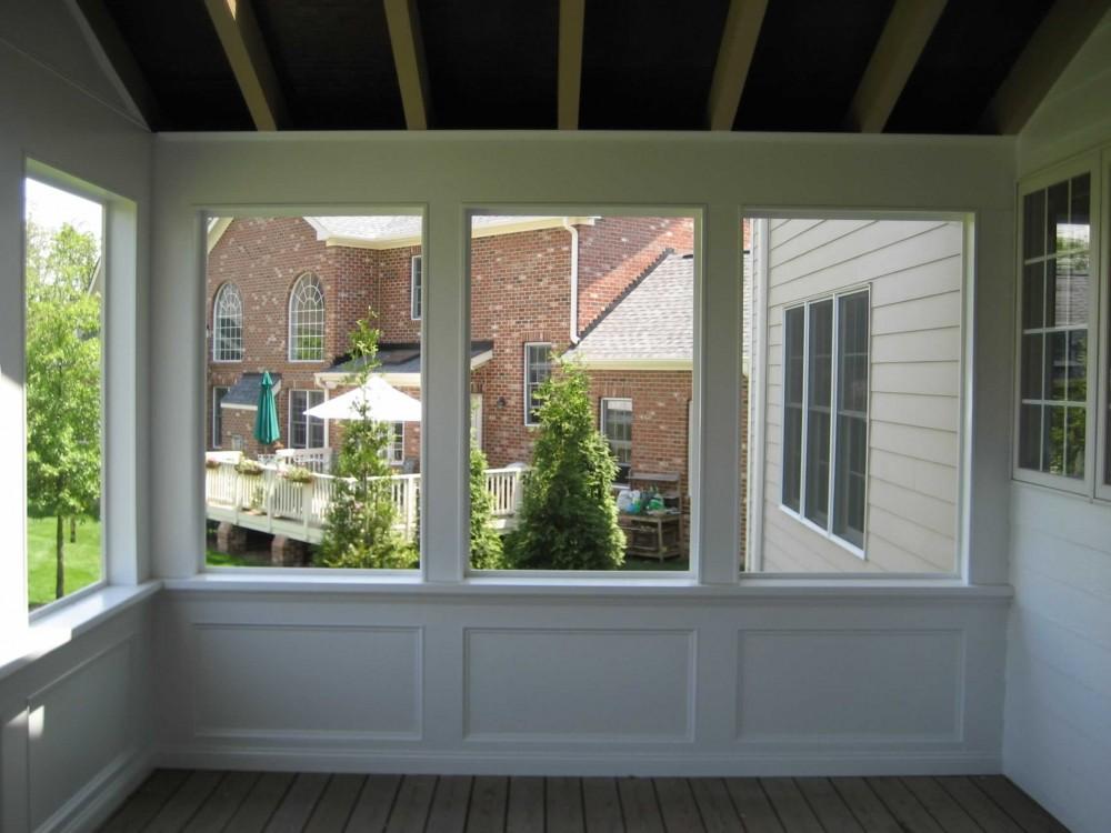 Photo By Home Renu. Screened Porch