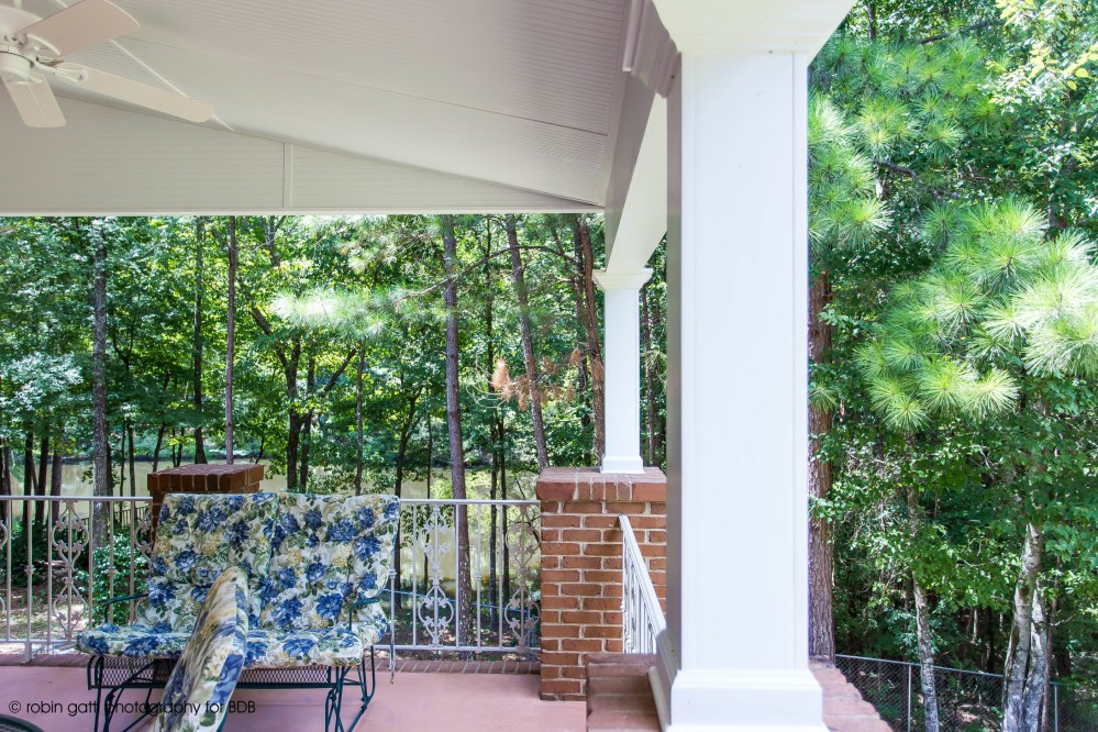 Photo By Bickley Design Build  . Davis Porch: Macon, Ga.